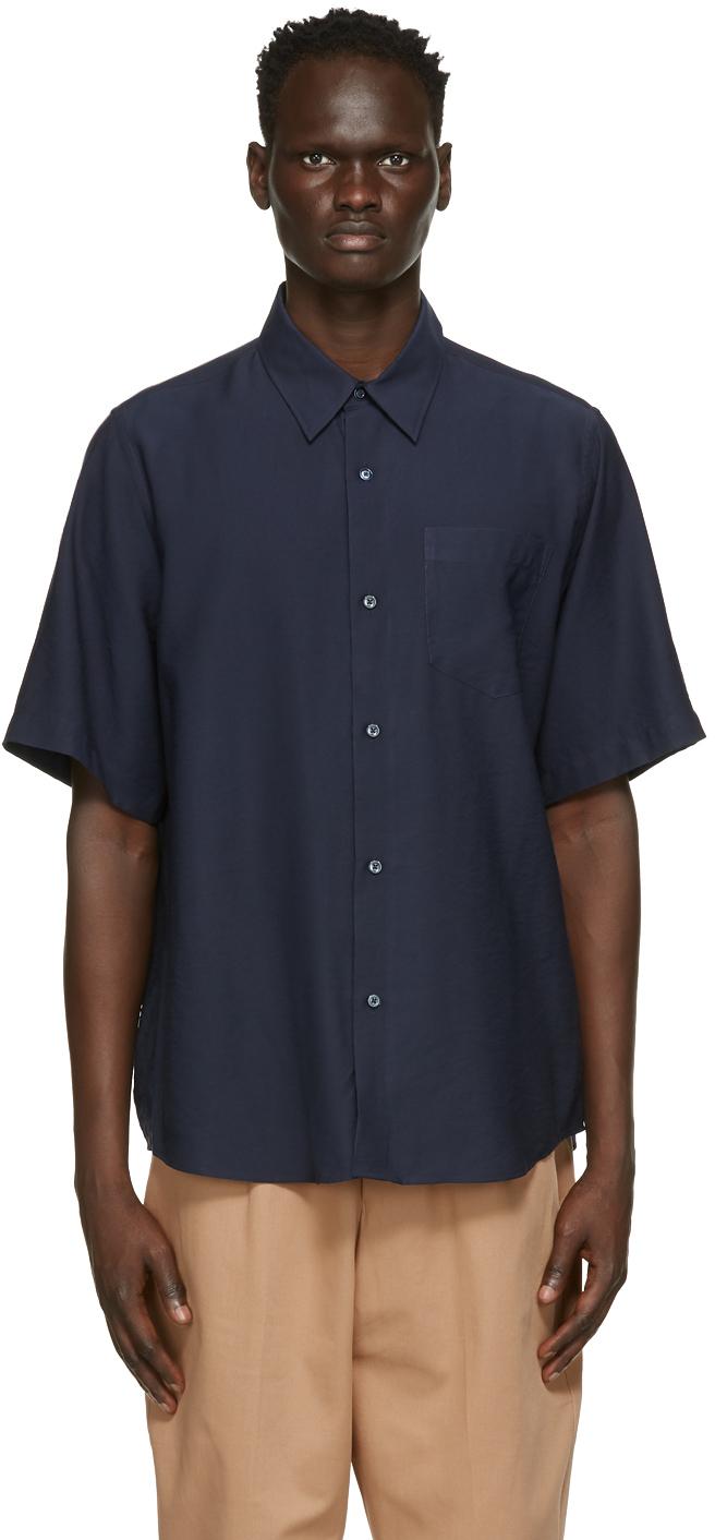 Navy Summer Fit Short Sleeve Shirt