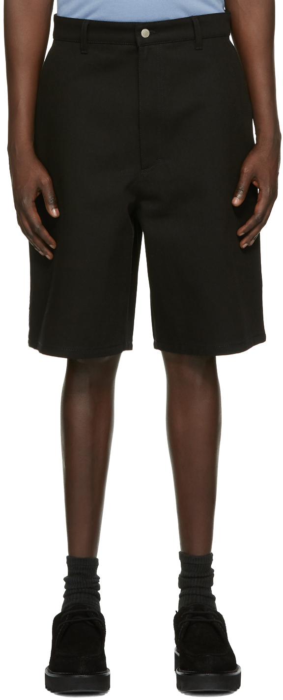 Black Worker Shorts