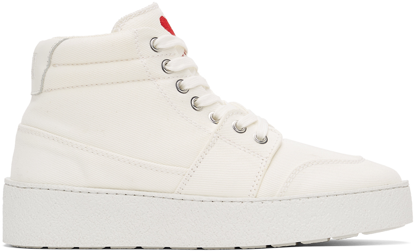 White Ami de Cœur High Sneakers