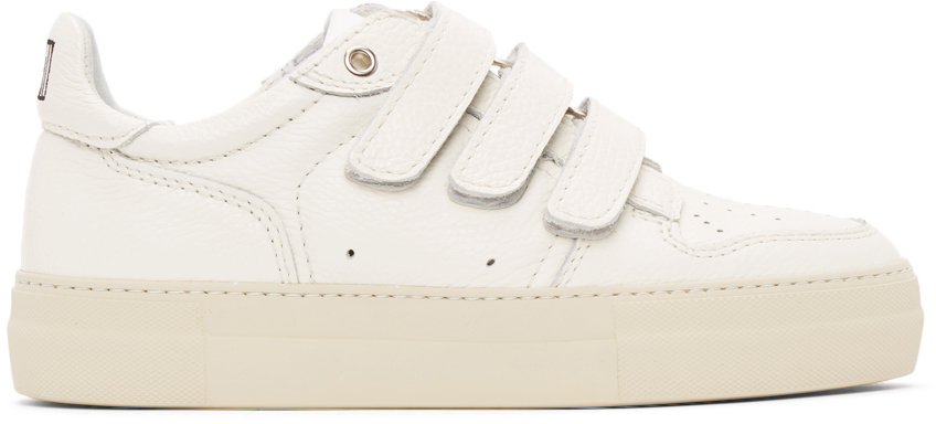 Off-White Velcro Low-Top Sneakers