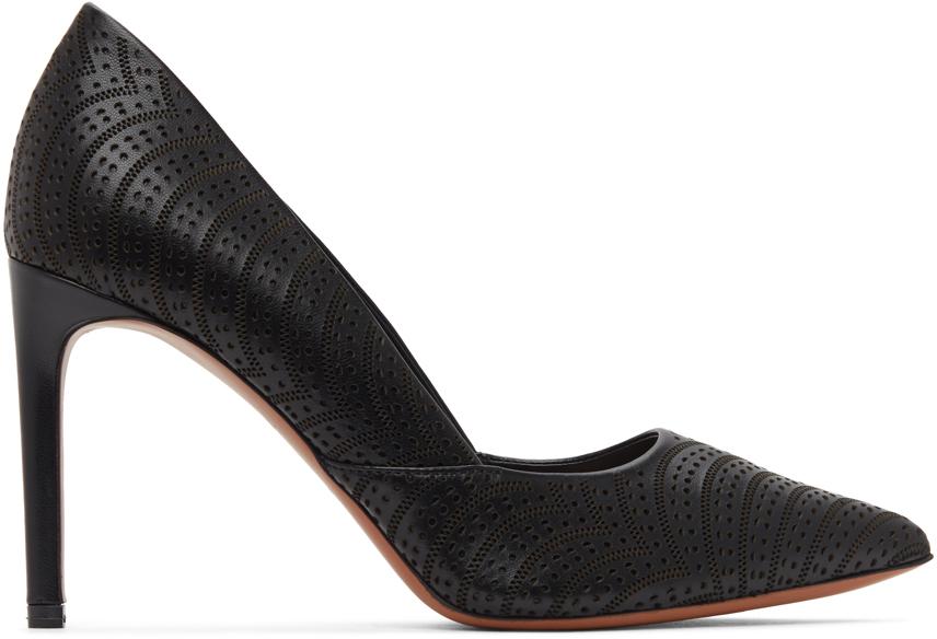 Black Vienne Vague Heels