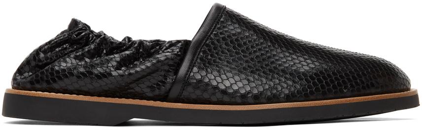 Black Snake Riviera Loafers