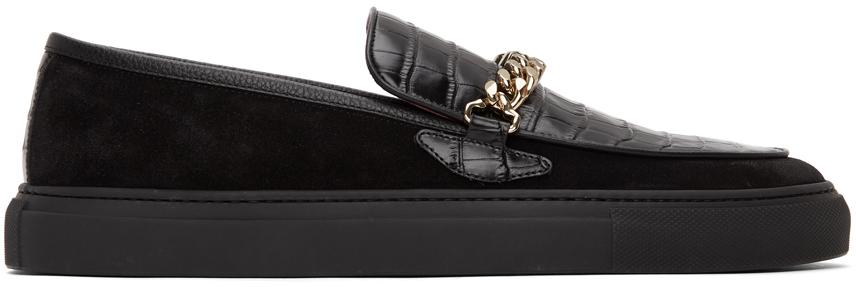 Black El Dorado Loafers