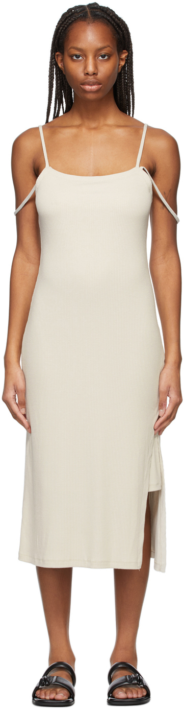 SSENSE Exclusive Off-White Double Strap Dress