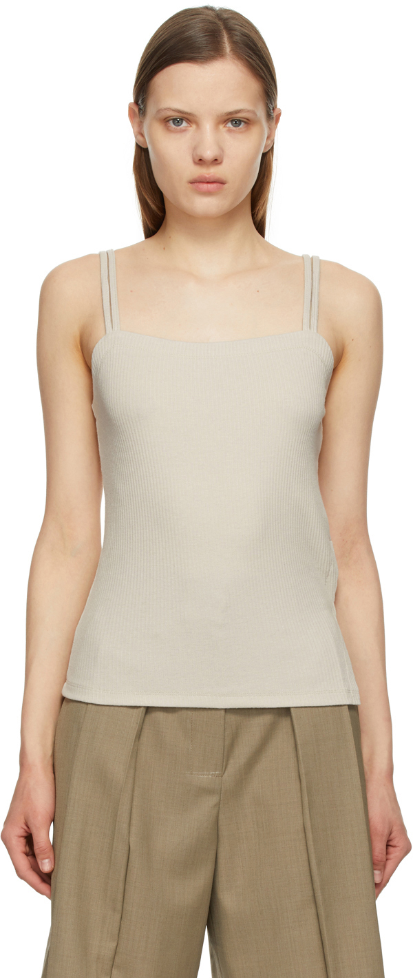 Off-White Double Strap Tank Top
