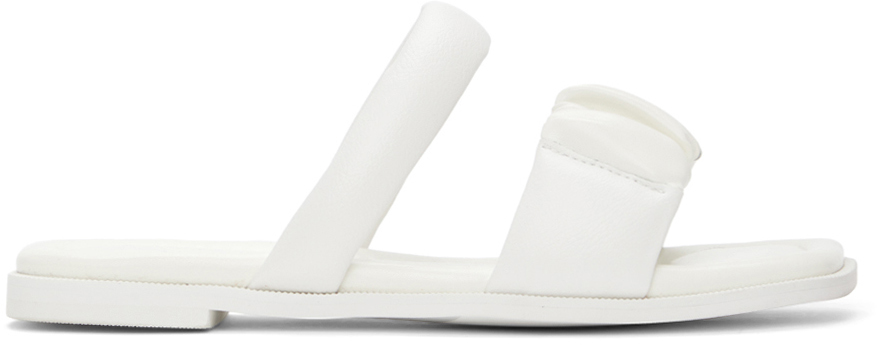 Kim Matin 白色 Bold Strap 凉鞋