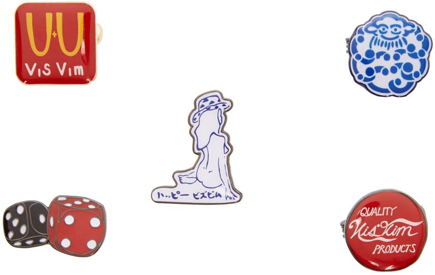 Five-Pack Lapel Pins