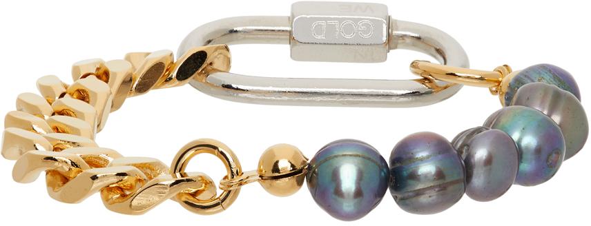 SSENSE Exclusive Gold Cuban Link Bracelet