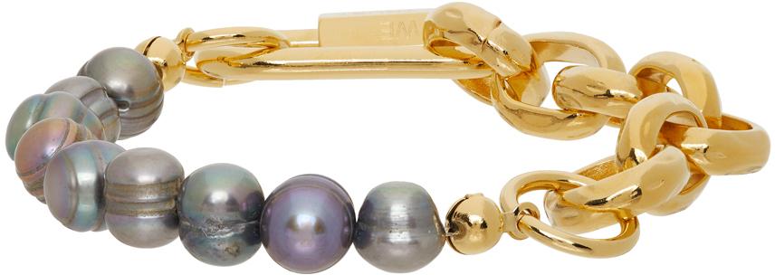 SSENSE Exclusive Gold Chain Bracelet