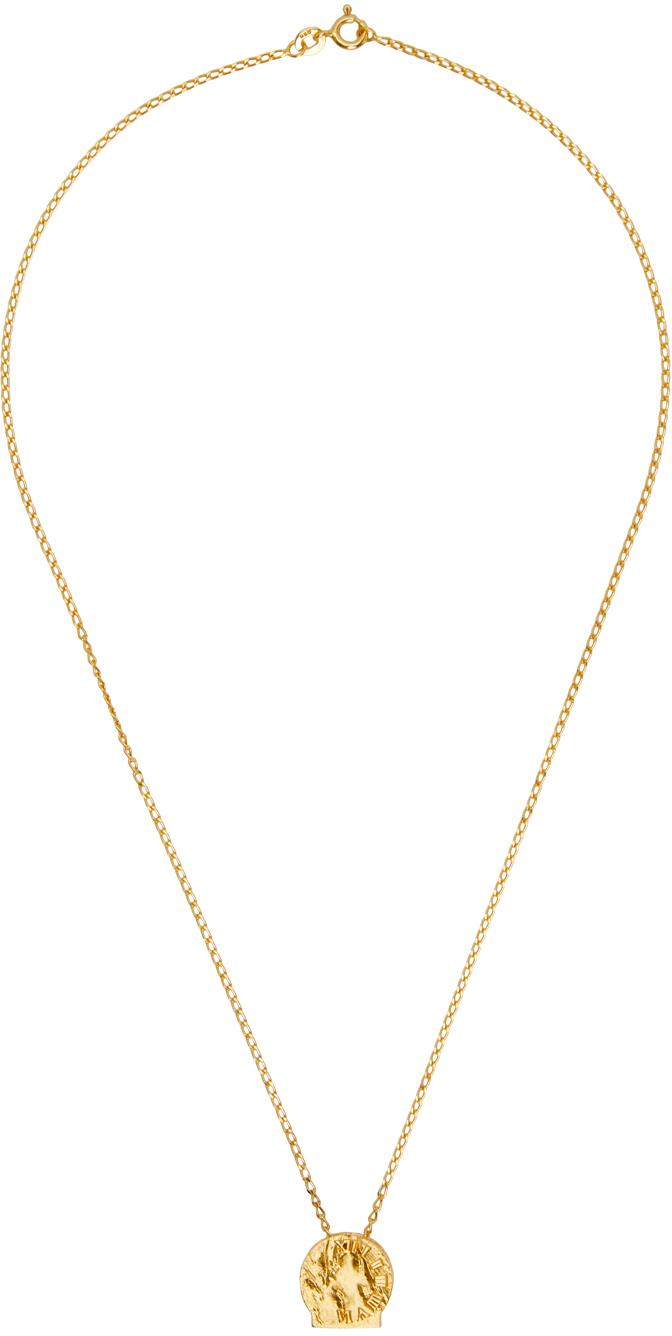 Gold Siya Pendant Necklace