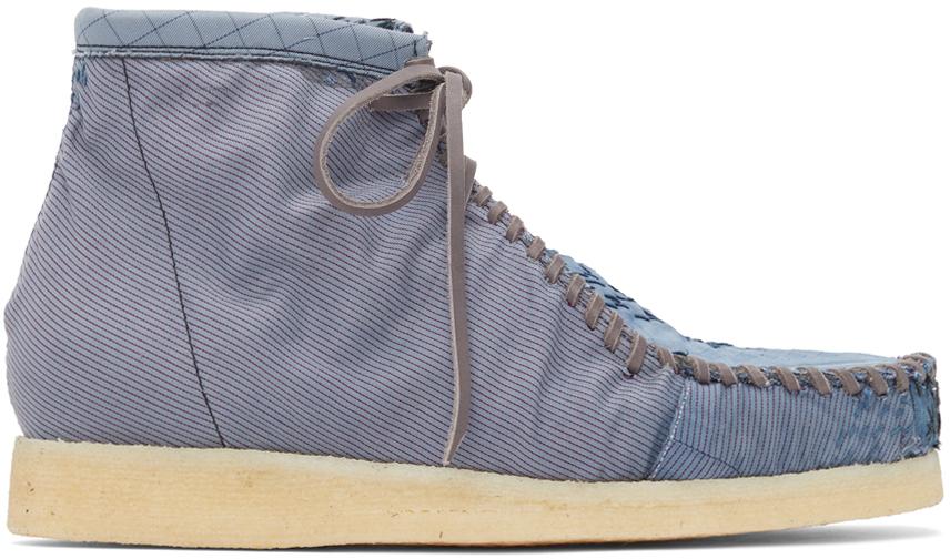 Blue Anka Desert Boots
