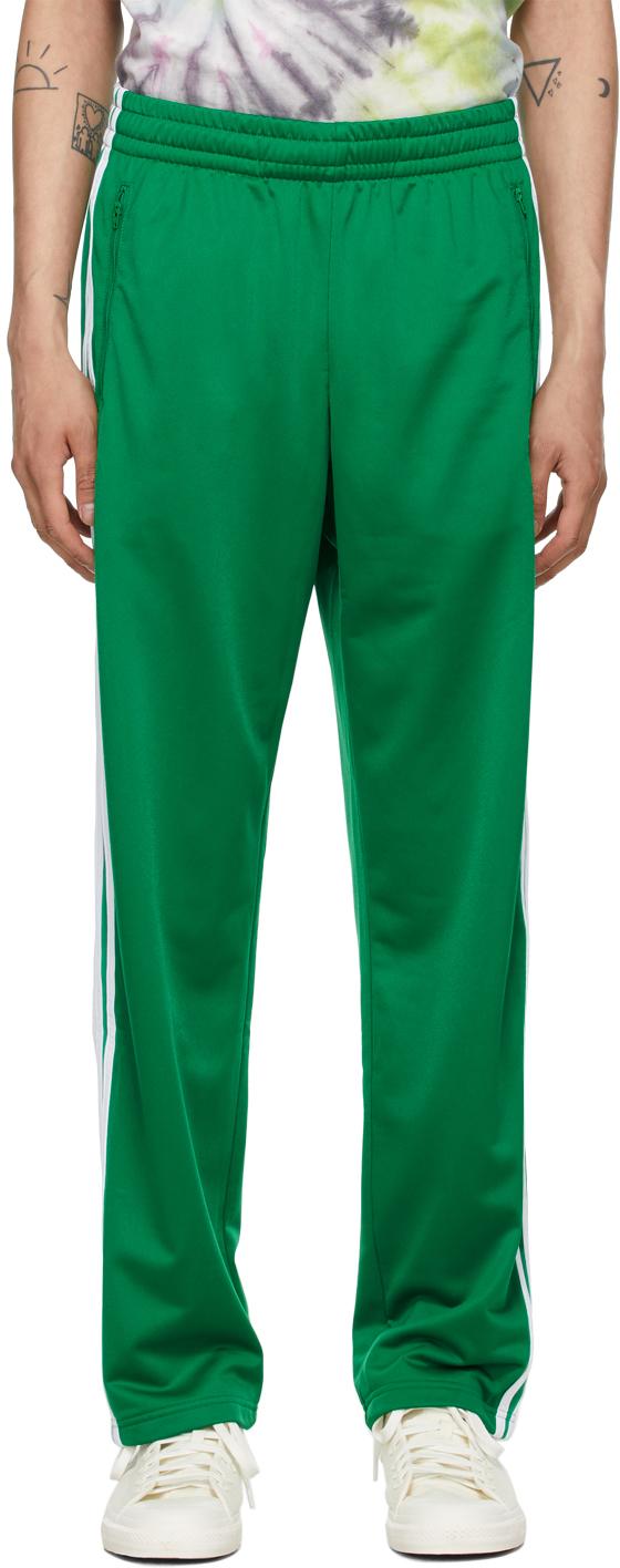 Adidas X Human Made Green Firebird Track Pants
