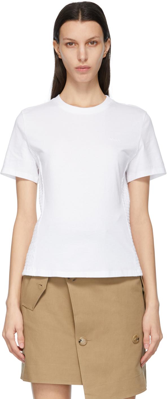 White Smocking T-Shirt