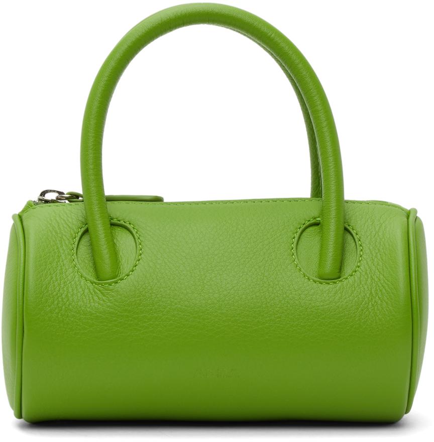 Abra Green Cylinder Bag 211526F046000
