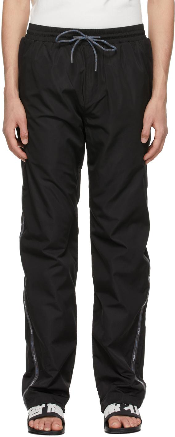 Black P2 Track Pants