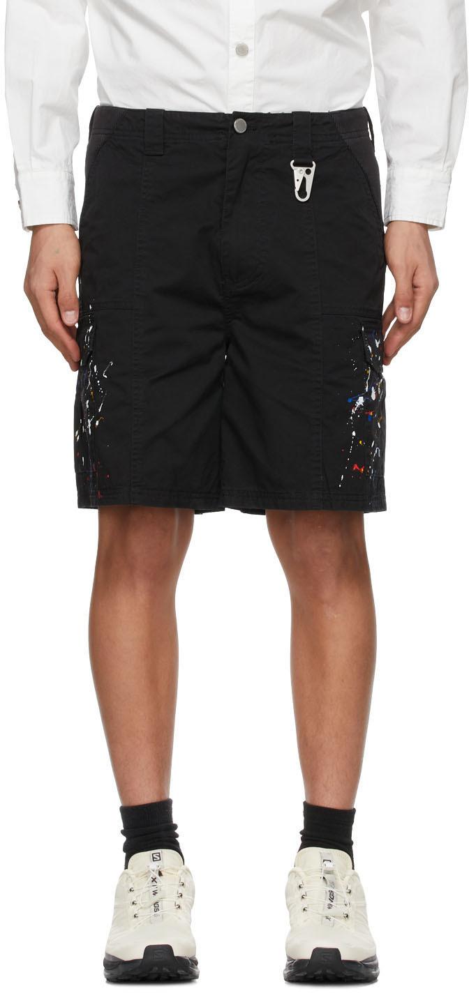 Black P5 Cargo Shorts