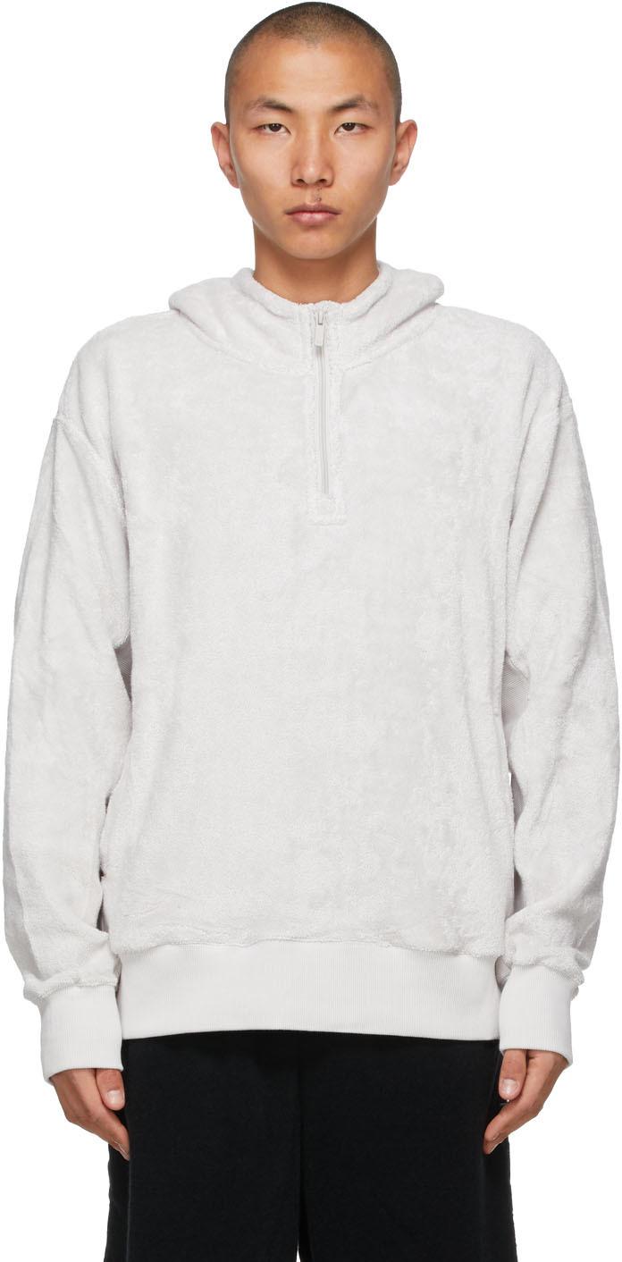 Grey H2 Half-Zip Hoodie