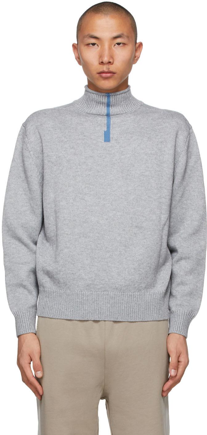 Grey H5 Turtleneck