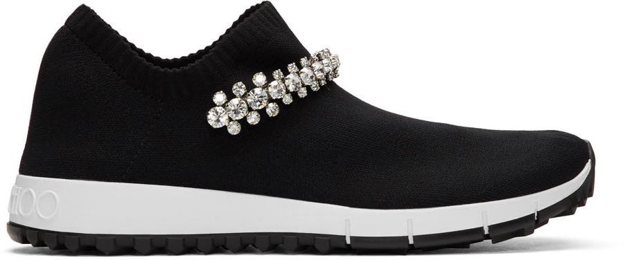 Black Crystal Verona Sneakers