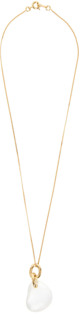 1064 Studio Gold Shape of Water 23N Necklace 211537F023014