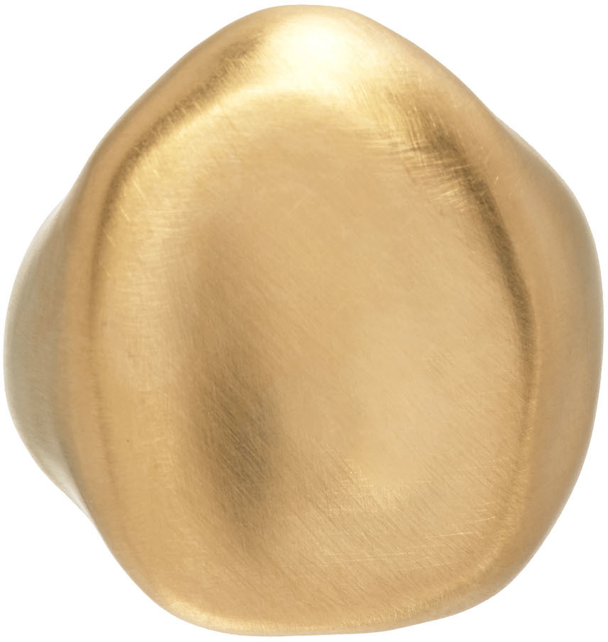 1064 Studio Gold Shape Of Water 30R Ring 211537F024015