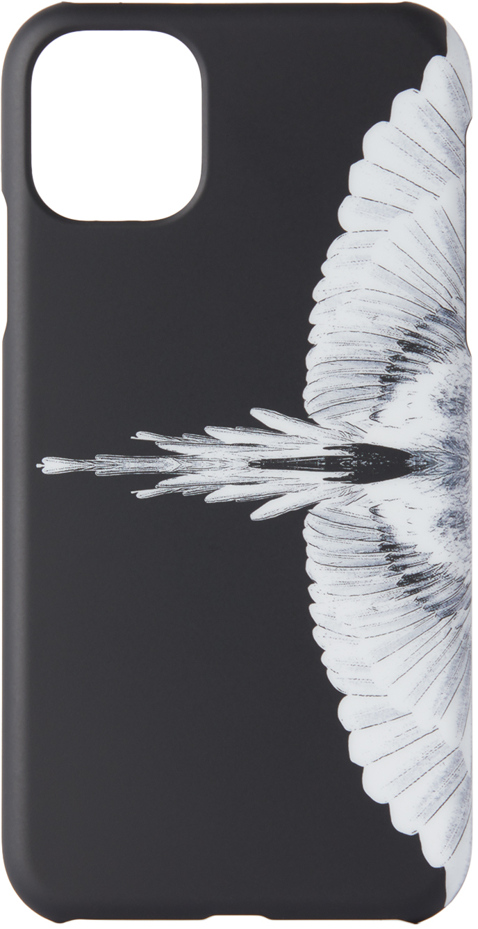 Black & White Wings iPhone 11 Case