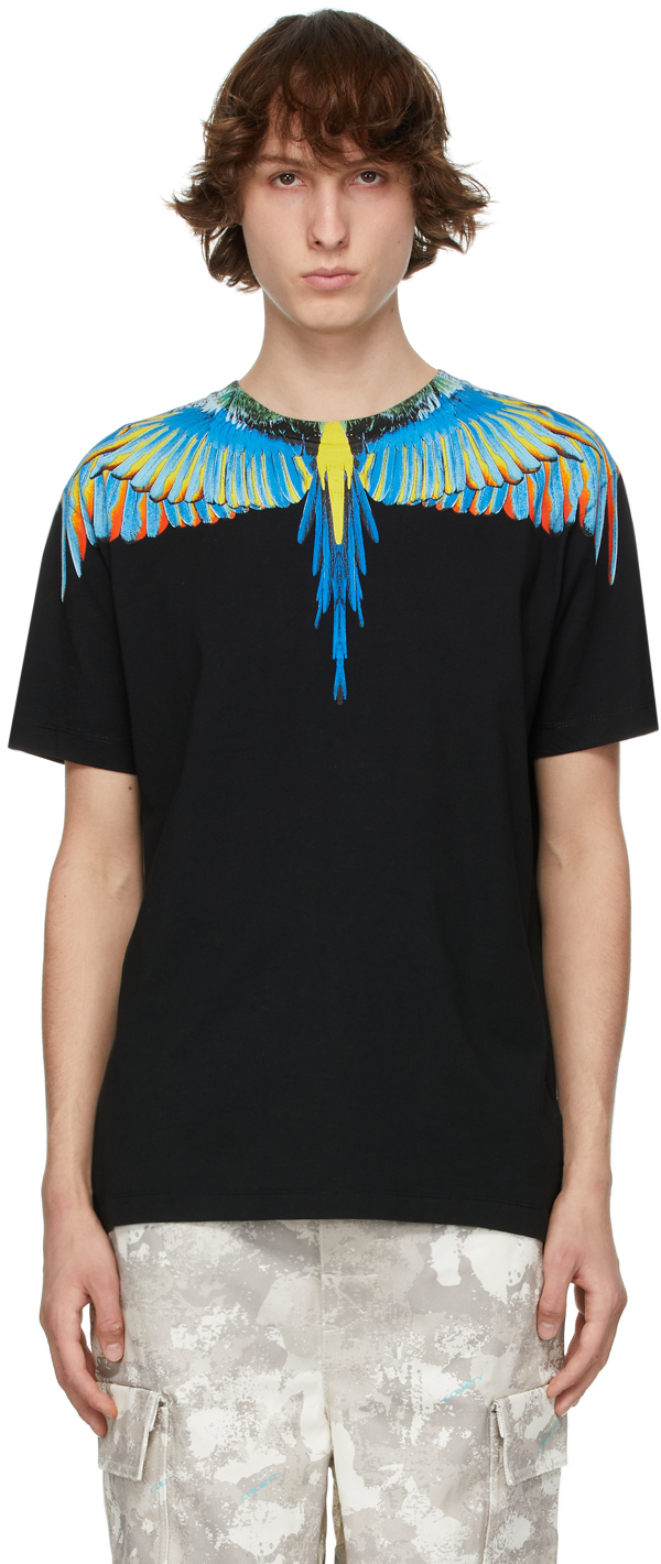 Black & Blue Wings T-Shirt