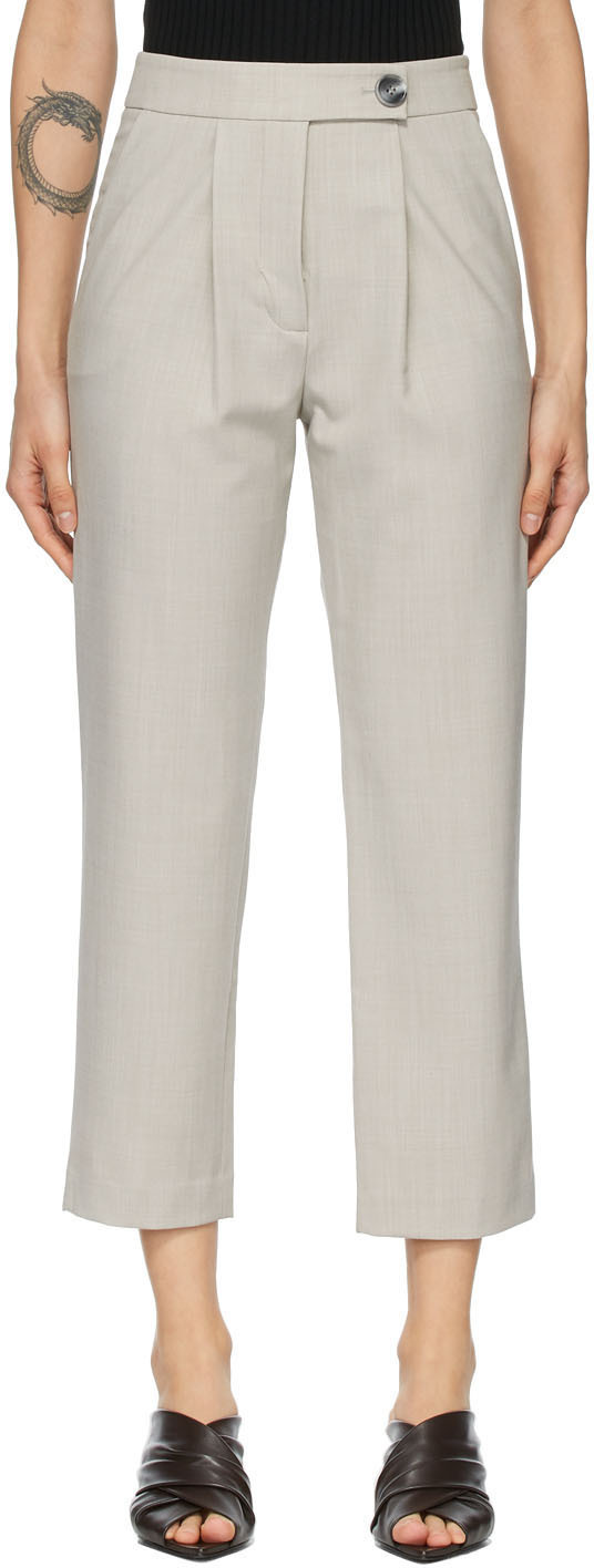 Grey Cameron Trousers