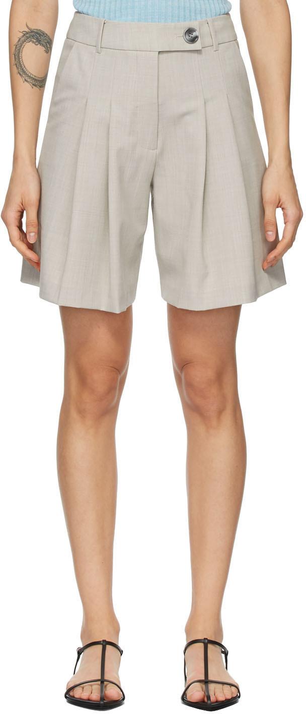 Grey Ethan Shorts