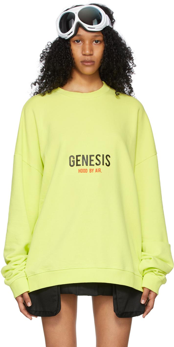 Green Graphic Sweatshirt