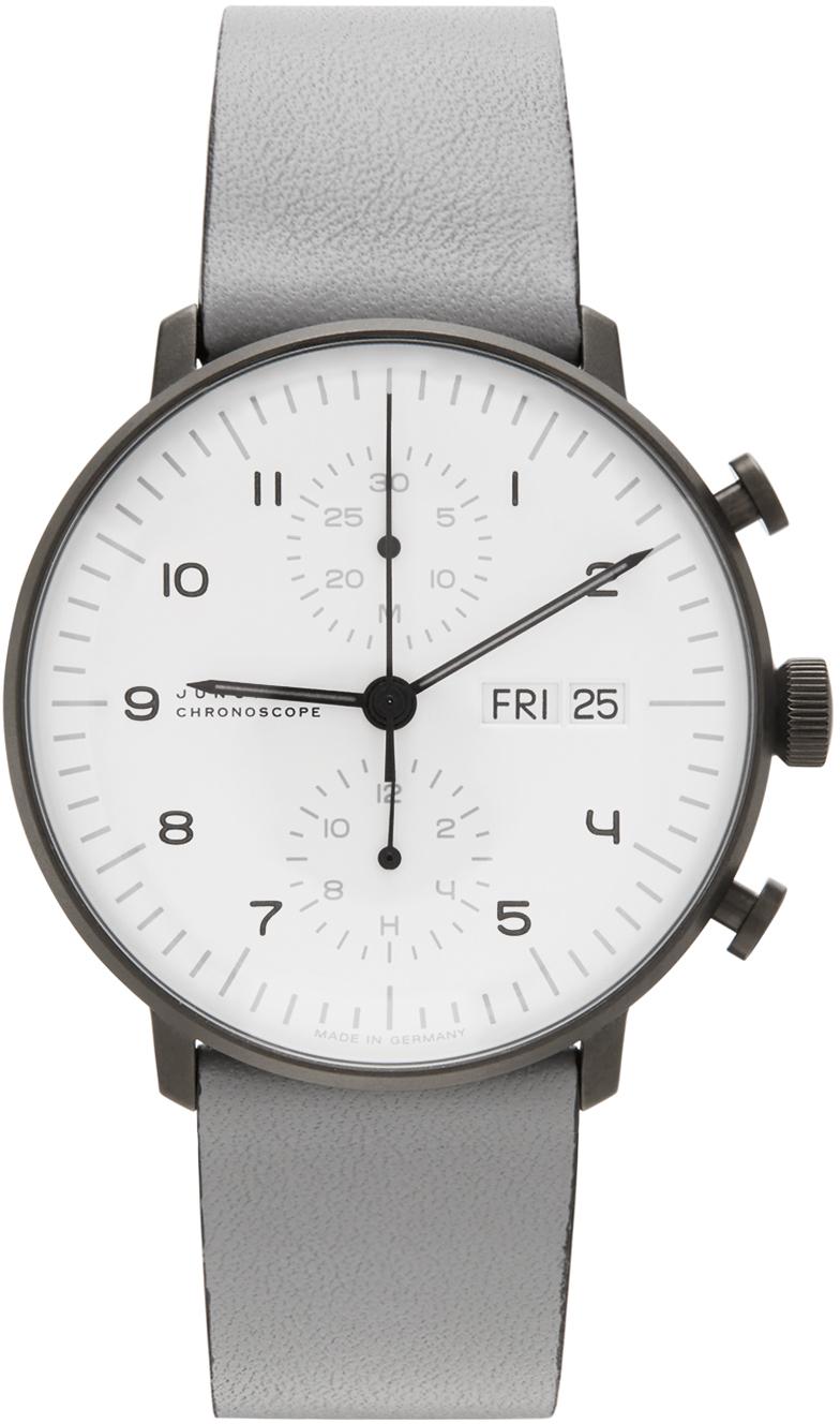 Grey Max Bill Chronoscope Watch