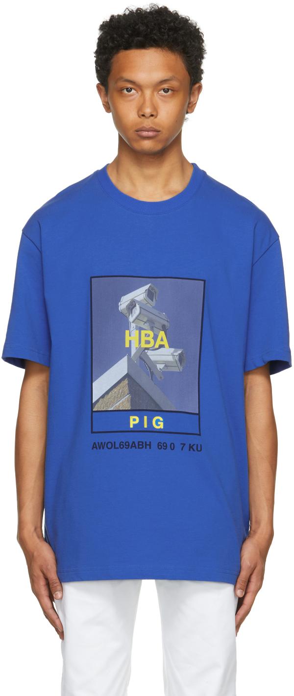 Blue Veteran CCTV T-Shirt