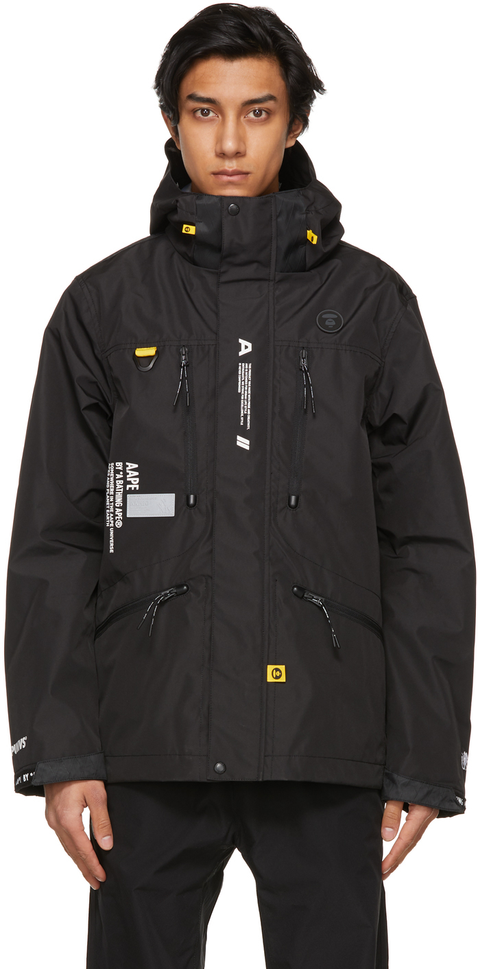 AAPE by A Bathing Ape 黑色 Two-Layer Light 夹克