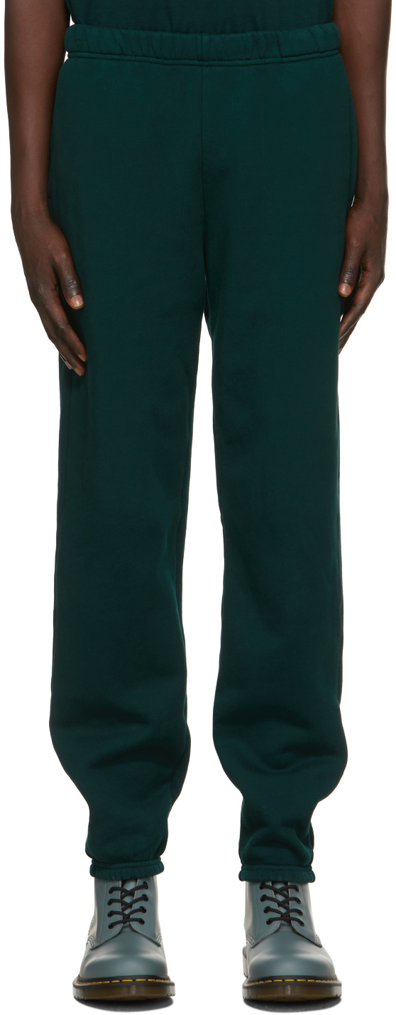 Green Heavyweight Classic Lounge Pants