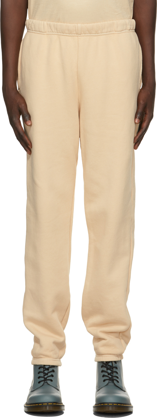 Beige Heavyweight Classic Lounge Pants