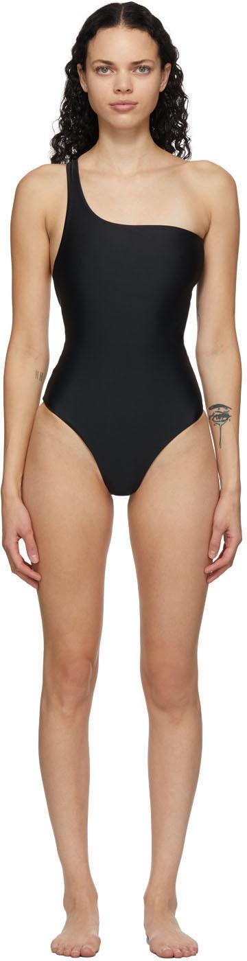 Black Evolve One-Piece Swimsuit