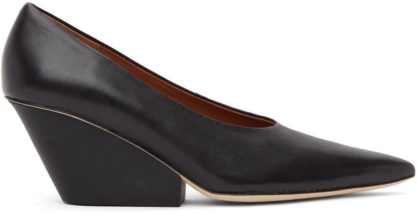 Black Juanita Heels