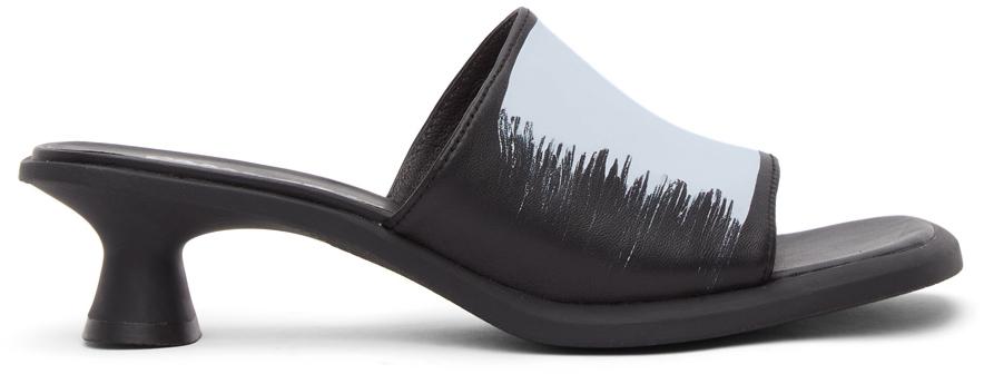 Black Dina Sandals
