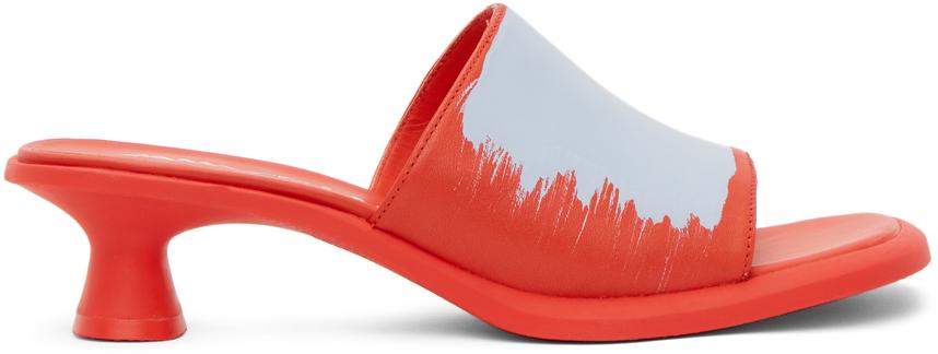 Red Dina Sandals