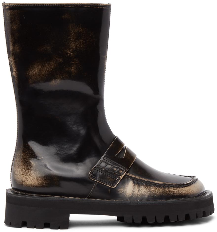 Black Eki Boots