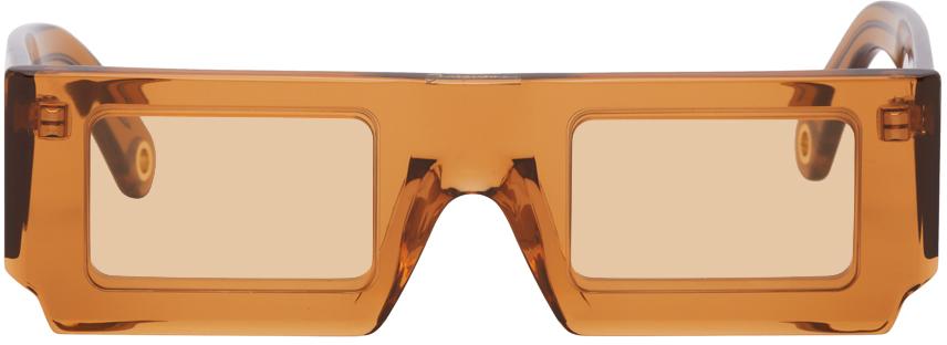 Orange 'Les Lunettes Soleil' Sunglasses