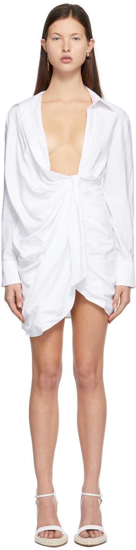 White 'La Robe Bahia' Dress