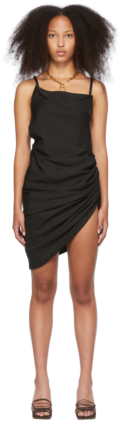 Black 'La Robe Saudade' Dress