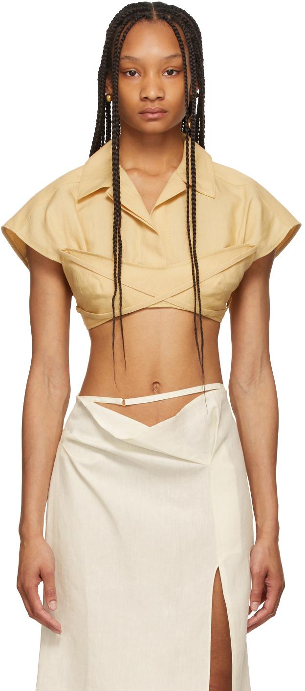 Yellow 'Le Haut Santon' Shirt
