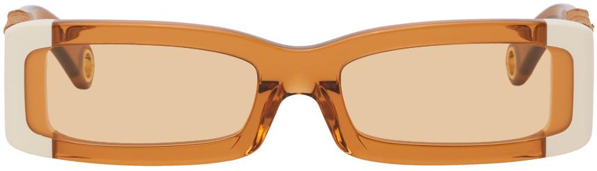 Orange 'Les Lunettes 97' Sunglasses
