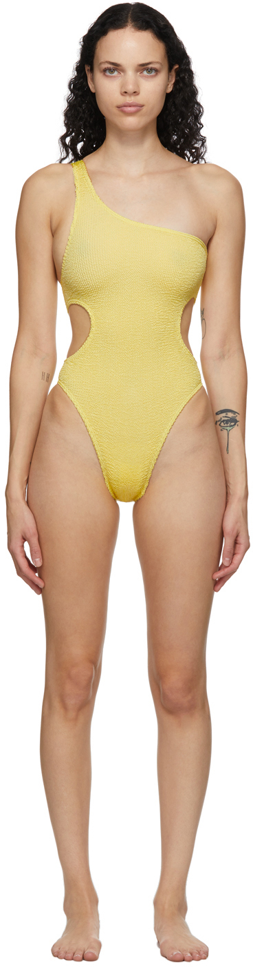 Yellow 'The Milan' One-Piece Swimsuit