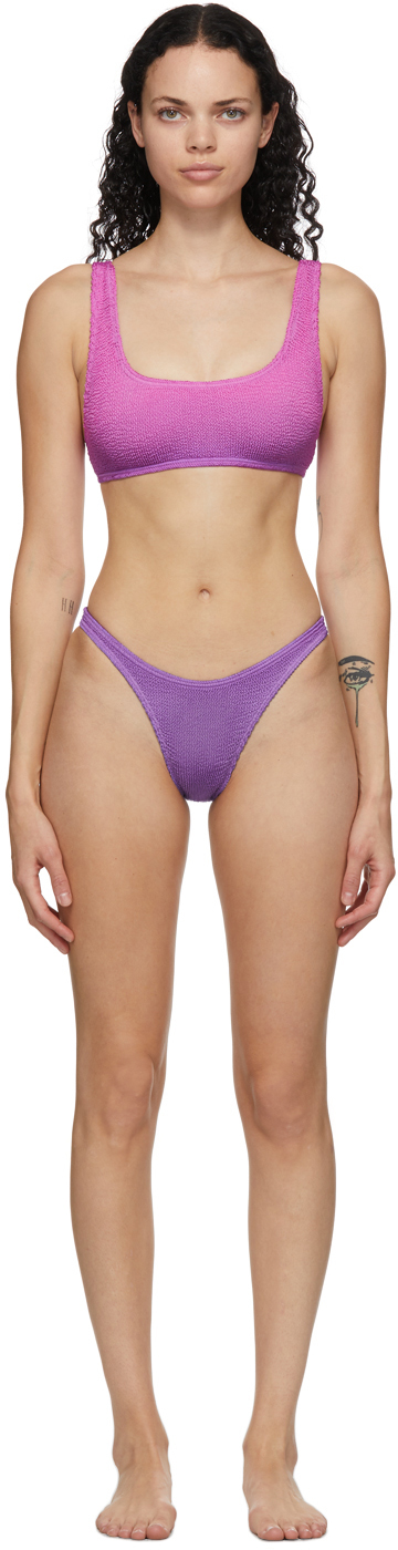 Purple & Pink 'The Malibu' Bikini