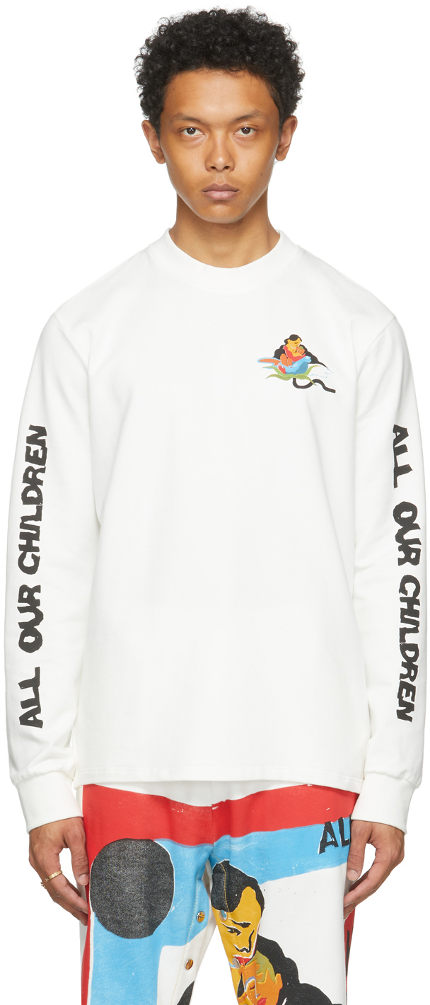 White The Magpie Project Edition AOC Long Sleeve T-Shirt