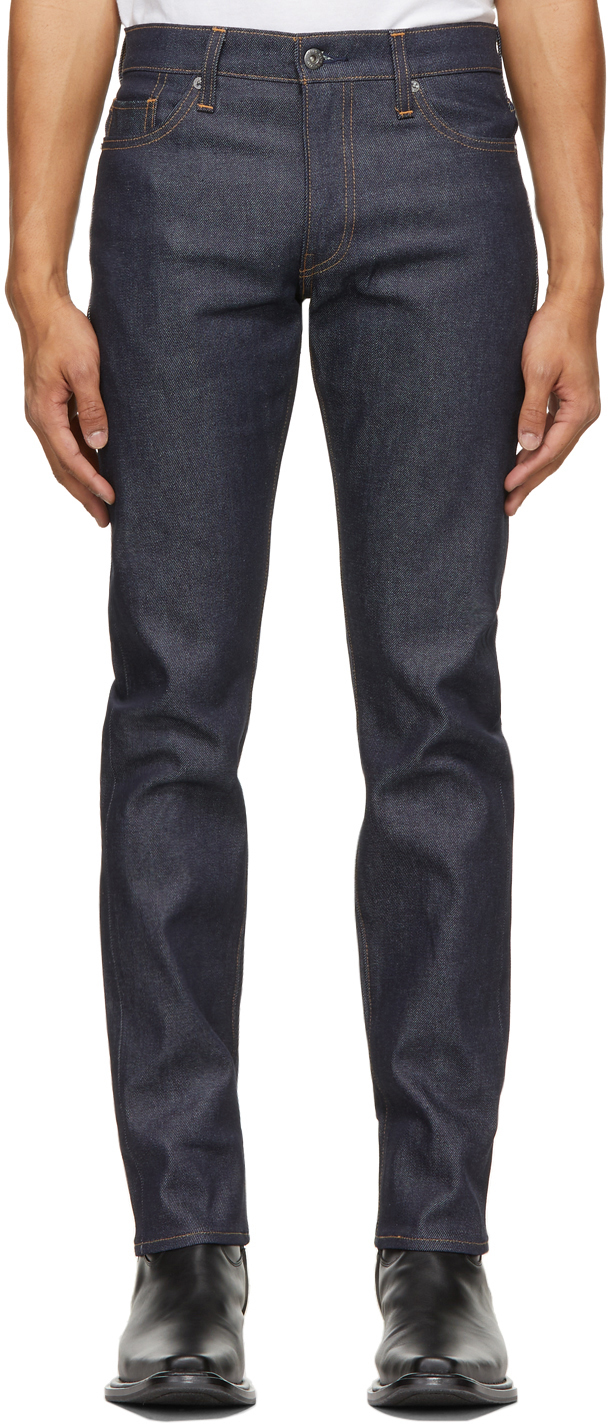Levi's Made & Crafted 靛蓝色 511 Slim 牛仔裤