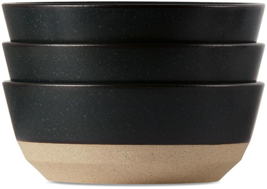 Black Ceramic Lab CLK-151 Bowl Set